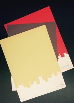 Untitled - Collection of three serigraphs