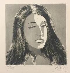 Inge - Original Etching - 1970