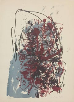 Le Vieux Monde - Original Lithograph by Asger Jorn - 1959
