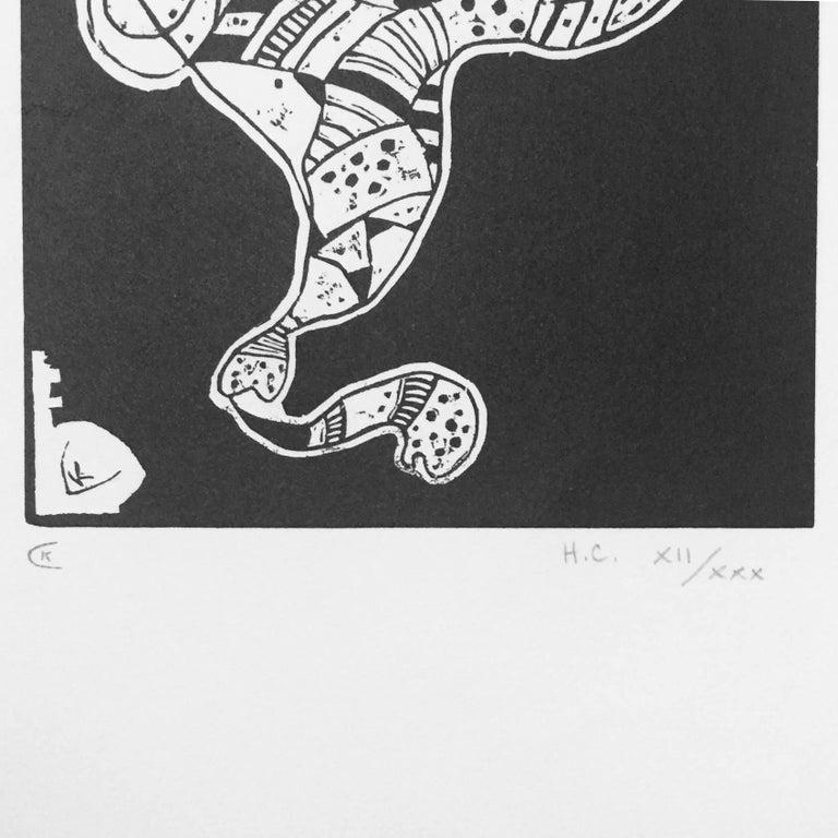 Gravure pour 10 Origine - Print by Wassily Kandinsky