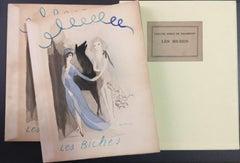 Les Biches (on Hollande Van Gelder paper) - Original Illustrated Book - 1924