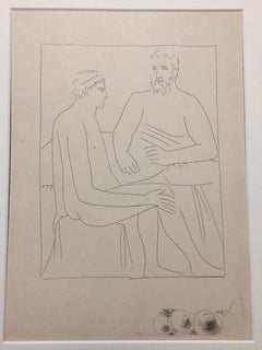 """Numa suit les Cours de Pythagore - From """"Les Métamorphoses d'Ovide"""""""