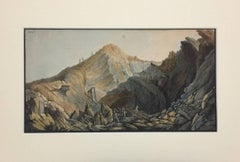 "Landscape  - Plate XIV from ""Campi Flegrei"""