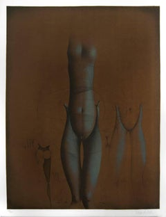 Untitled 7 - Original Lithograph by Paul Wunderlich - 1970