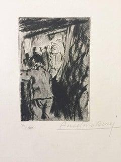 """En Tranchée Ouverte - from """"Le Croquis du Front Italien"""""""
