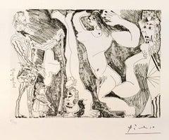 L'Acrobate, avec Femme et Spectateurs