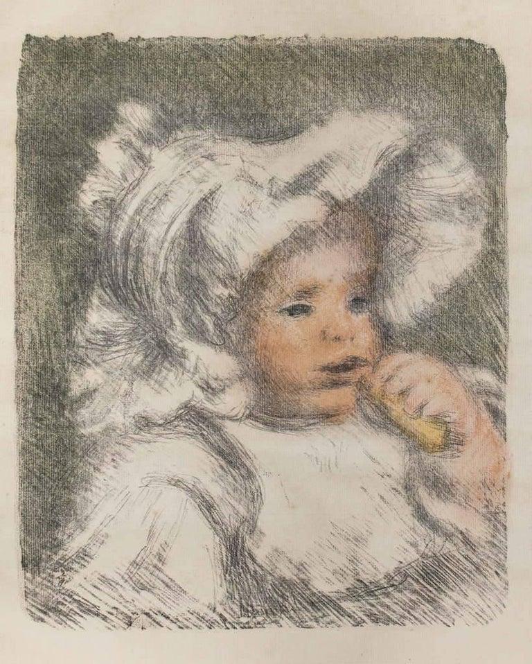 Pierre-Auguste Renoir Figurative Print - L'Enfant au Biscuit (Jean Renoir)