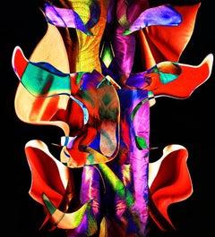 Maya - A surreal transfiguration,almost dreamlike of a dress-sculpture