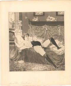 Erotic Scene V - Illustration