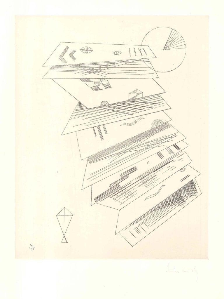 Composition 2 pour Cahiers d'Art