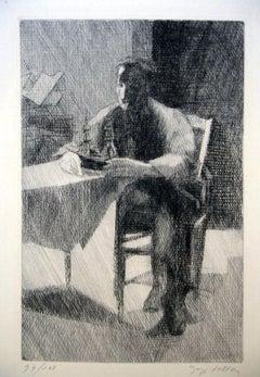 L'Aventure - 1930s - Jacques Villon - Etching - Modern