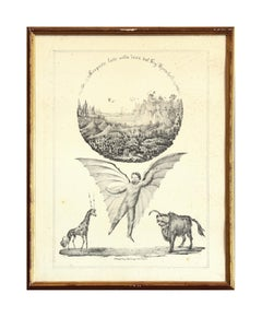 Discoveries Made On The Moon - 1836 - Gaetano Dura - Lithograph - Old Masters