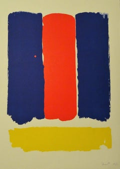 Abstract Composition - 1960s - Bram Bogart - Serigraph - Contemporary
