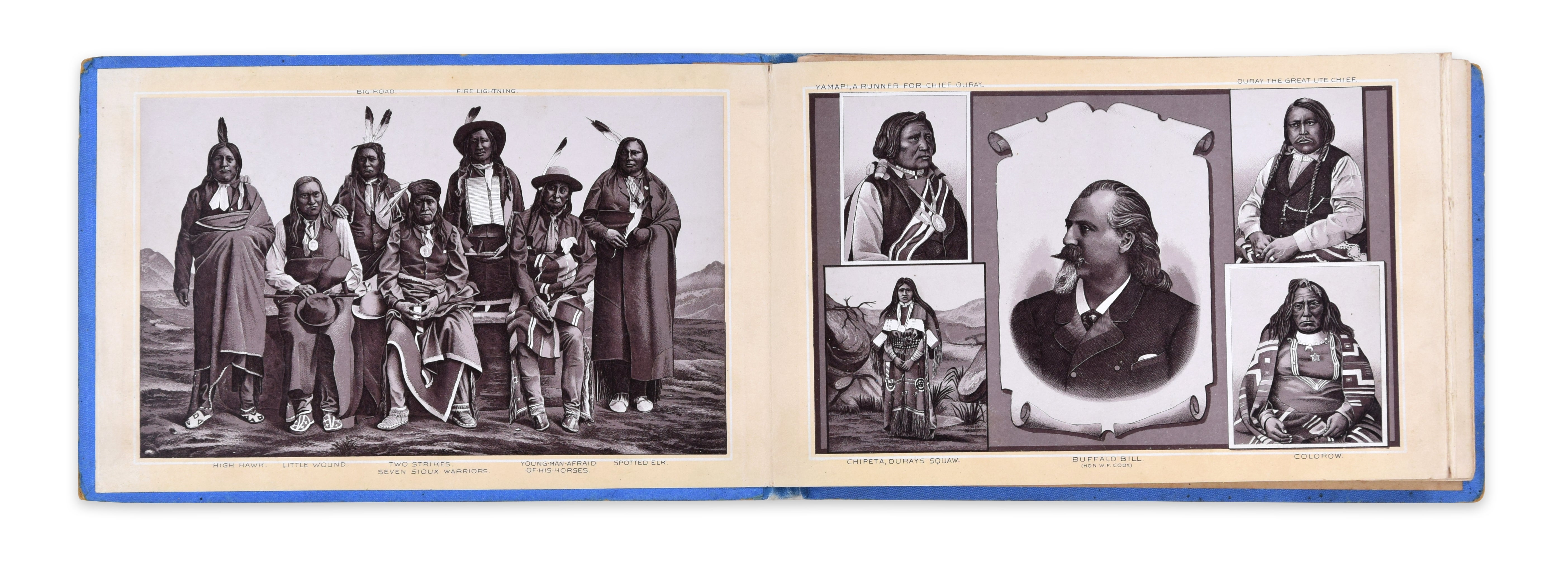 Out West - Vintage Photo Book - Around 1900