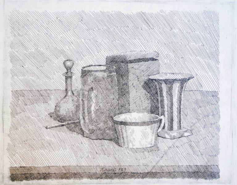 Morandi Still Life Drawings