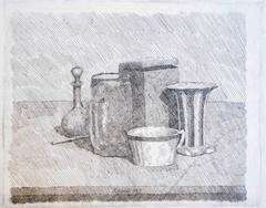 Still Life With Coffee Cup And Carafe