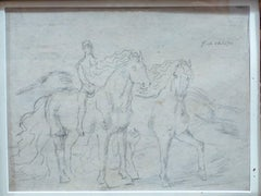 "Sketch for ""The Horses"""