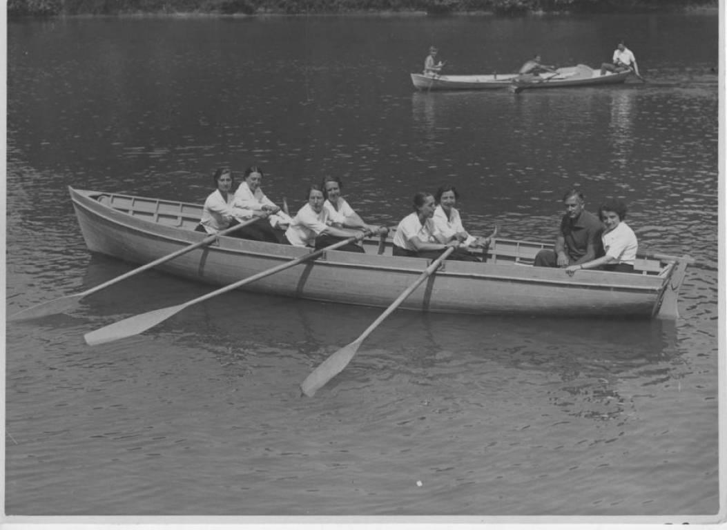 Fascism - Women in Rowboat