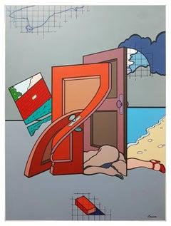 "Woman/Doors - From the series ""Palmas I"""