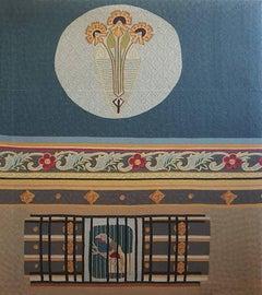 Uccello oltre la sbarra - Tapestry
