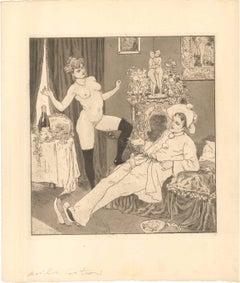 Erotic Scene I - Illustration