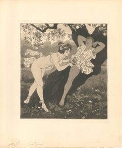 Erotic Scene II - Illustration