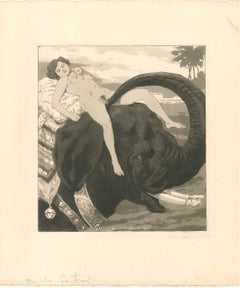 Erotic Scene IV - Illustration