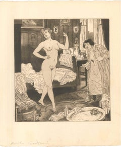 Erotic Scene VI - Illustration