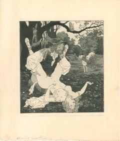 Erotic Scene VII - Illustration