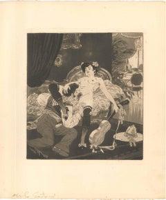 Erotic Scene IX - Illustration