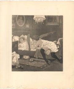 Erotic Scene X - Illustration