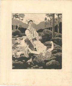 Erotic Scene XII - Illustration