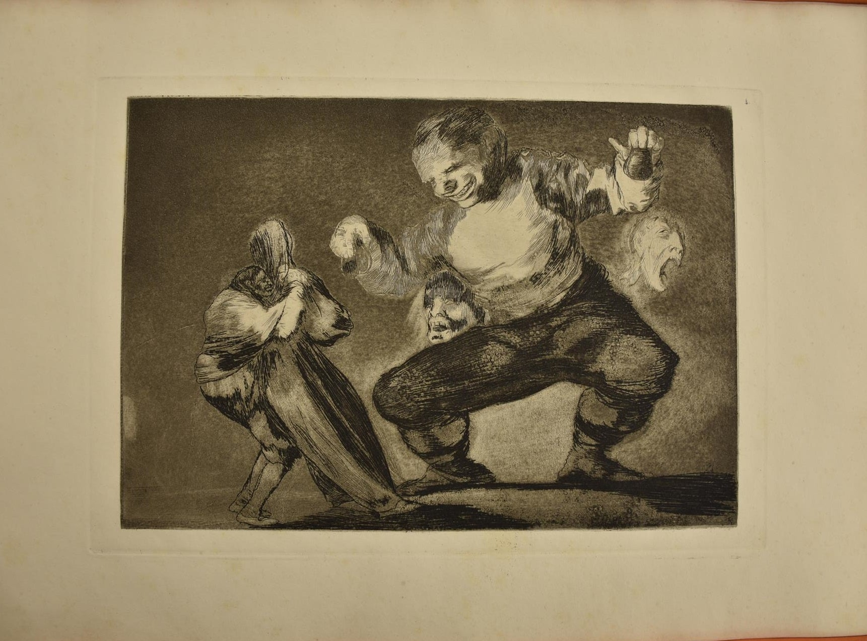 Follies A Way of Flying: Fine Art Print 13 Goya Prints: Los Disparates : No