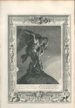"""Atlas porte le ciel, from """"Le Temple des Muses"""""""