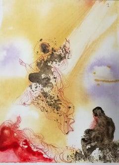 """Sanctus Raphael et Tobias - From """"Biblia Sacra"""""""