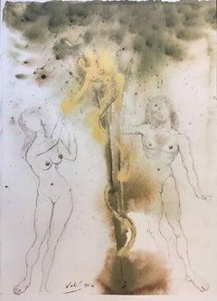 "Peccatum originis - From ""Biblia Sacra""  - 1960s - Salvador Dalì - Surrealism"