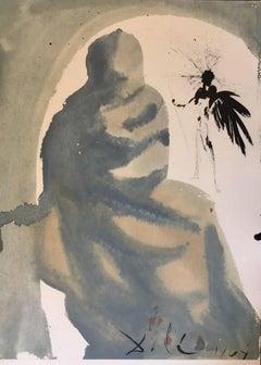 "Seduxisti me, domine - From ""Biblia Sacra""  - 1960s - Salvador Dalì - Surrealism"