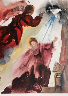 "Mariae Annunciatae - From ""Biblia Sacra""  - 1960s - Dalì - Surrealism"