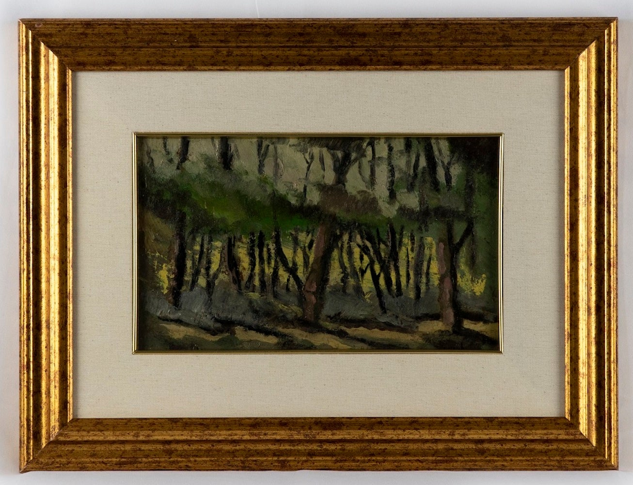 The Wood - Oil on Board - Mid 20th Century