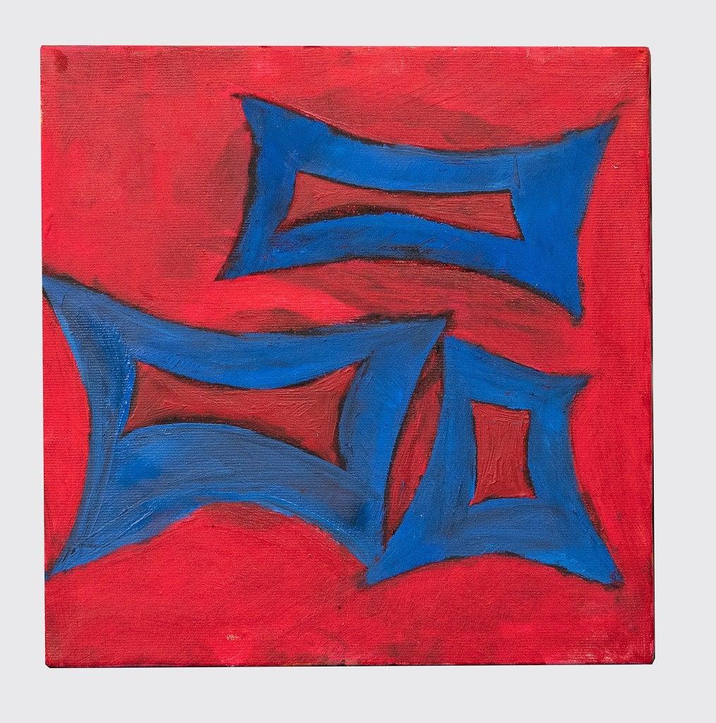 Minimalism - Original Oil paint by Giorgio Lo Fermo - 2020