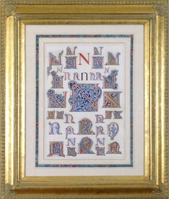 """Initial Letters """"N"""" (Alphabet)"""