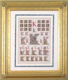 """Initial Letters """"K"""" (Alphabet)"""