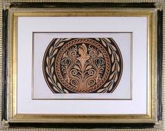 Gemaltes Ornament.  (Etruscan Vase Design)