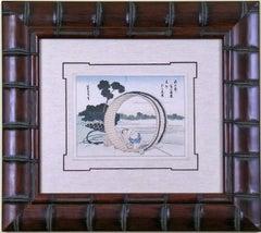 View of Mt. Fuji:  Barrel Maker