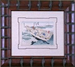 Views of Mt. Fuji:  The Boat