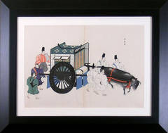 Transport:  Oxcart with 7 Men