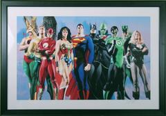JLA: Secret Origins  Wonder Woman, Superman, Batman and more.