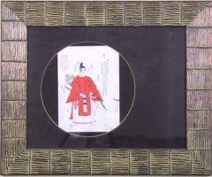 Kimono:  Man in Red