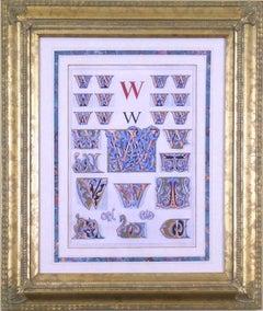 "Initial Letters ""W"" (Alphabet)"