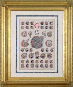 """Initial Letter """"G""""  (Alphabet)"""